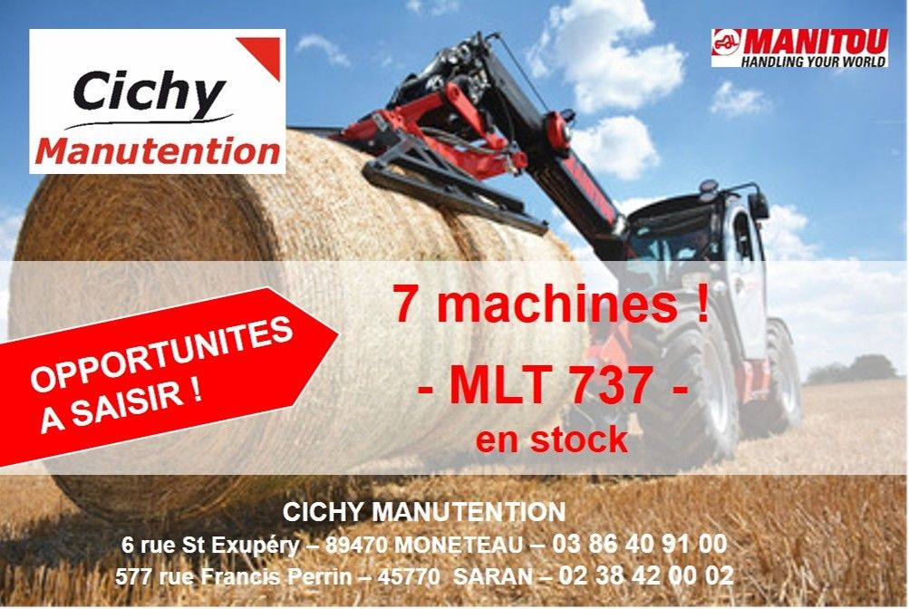MLT 737 MANITOU CICHY MANUTENTION