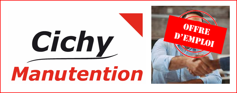 emploi cichy manutention