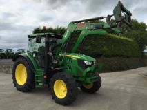 John Deere 6115R with H340 Loader