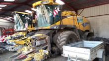 New Holland FR 9050 + KEMPER