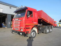 SCANIA  113-360 (MANUAL PUMP / STEEL SUSP)