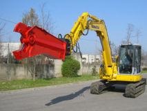 Cisaille hydraulique à ferraille pour pelle 8 à 15 tonnes
