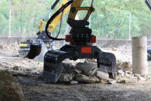 Pince de tri/enrochement/démolition pour pelle 8 à 12.5 tonnes