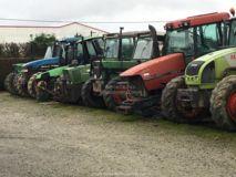 Pièces d'occasion tracteurs grandes marques