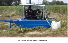 Groupe motopompe irrigation75 cv -70m3/h à 12 bars-