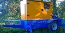Groupe Motopompe Insonorisé 4 cylindres - 82M3/h à 15 bars-