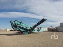 Powerscreen CHIEFTAIN 2100 5 Ft x 20 Ft 3 Deck Crawler Incline