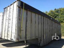 Peerless Trailer 40 Ft x 8 Ft T/A Aluminum Belly Ope