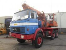 Atlas  Mercedes Benz - 2632 Atlas Excavator 6x6 Top Condition