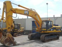 Caterpillar 330 Track Excavator Good Workning