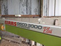 Claas DISCO 3000 PLUS - FLAPGROUPER