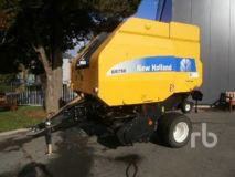 New Holland BR750A Round