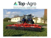 Grano Herse disques / Hydraulische Scheibenegge / Hydraulic disc harrow  6m 560mm OFAS disc + tubular roller, New !