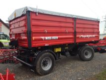 Metal-Fach T739 - 14t 3-Seiten Kipper TOP-AGRO, Double axle tipping trailer, New 2017!
