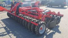 Grano SHOP  4,0m tires roller + lift for seeder + drawbar, Seedbed combination Top-Agro, NEW 2017