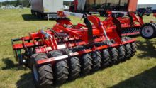 Grano SHOP  4,0m tires roller + lift for seeder + drawbar, disc harrow Top-Agro, NEW 2017