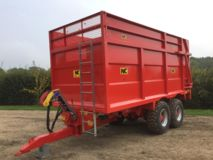 NC Trailers NEW-1855-14 Silage Trailer