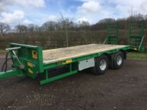 NC Engineering 9t Low Loader Trailer