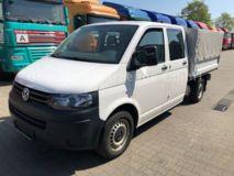 VW T5 Pritsche 2.0 TDI DoKa 6-Sitze*Navi*Klima*TÜV*