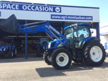 New Holland T6020 Elite + Chargeur