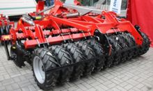 Awemak ASTRA ATD30 disc cultivator with tyre roller