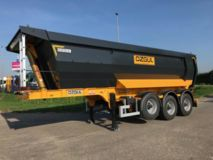 Ozgul  G10F Triple Axles End Dump Trailer
