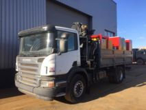 SCANIA  P310 4x2 Service Truck with Crane Hiab 111BS-2 CLX NEW/UNUSED