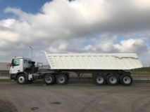 Mercedes-Benz  Actros 3848 6x4 with Gorica 3-Axle Dump Trailer