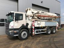 SCANIA  Concrete Pump