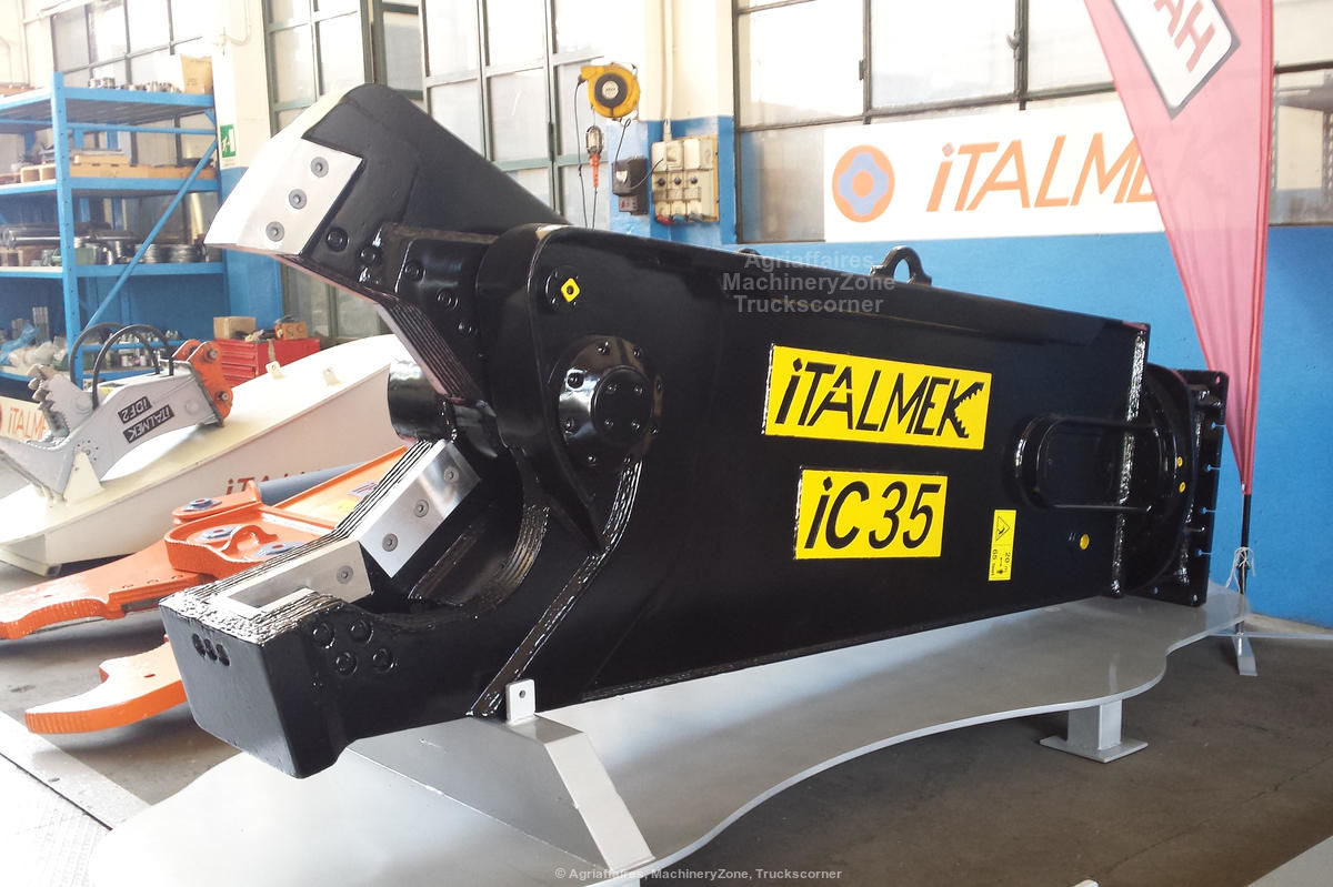 iTALMEK DEMOLITION SCRAP METAL SHEAR iC35