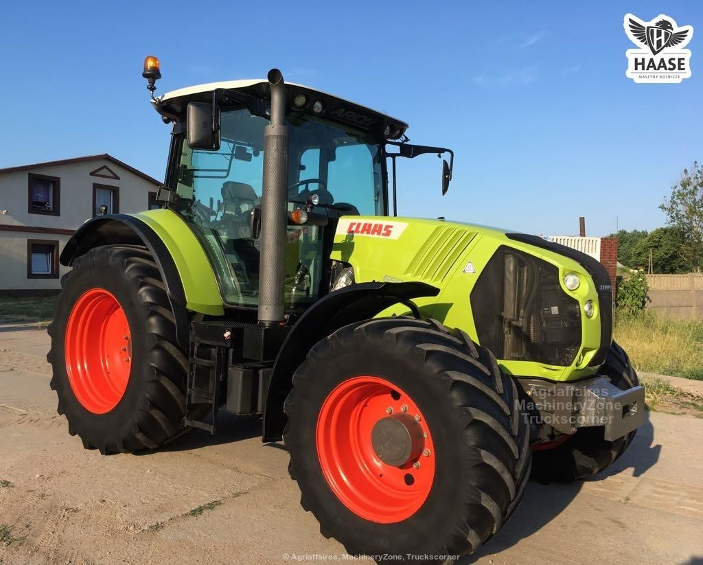 Claas ARION 650 TLS 50km/h PNEUMATYKA nie axion john 6930, 7530 fendt 820 deutz case mf new