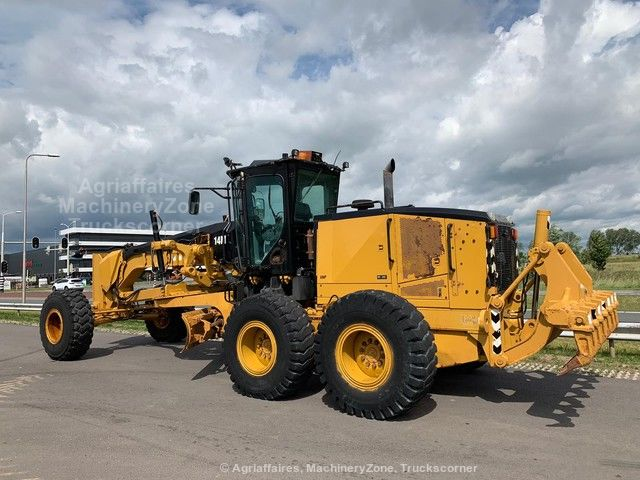 Caterpillar 14M Motor Grader MS ripper + Pushblock