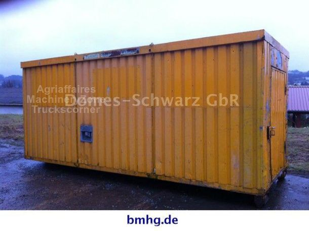 ANDERE Container Büro Lager Seil Abrollcontainer