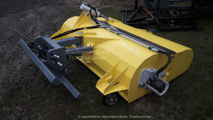 Grutech SID Die Kehrmaschine GTH-ZMS 1,4m / Balayeuse  / Sweeper / Spazzatrice