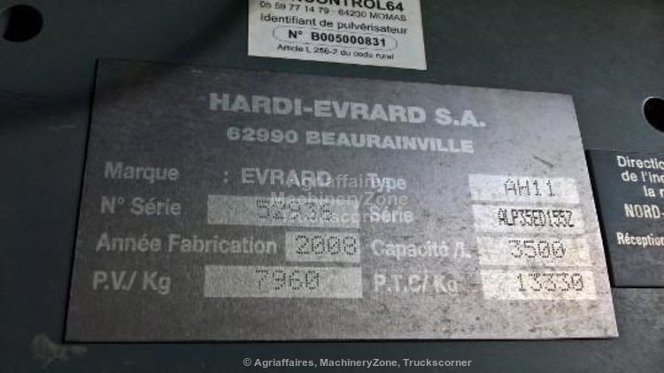 Hardi ALPHA 3500 TWIN 24