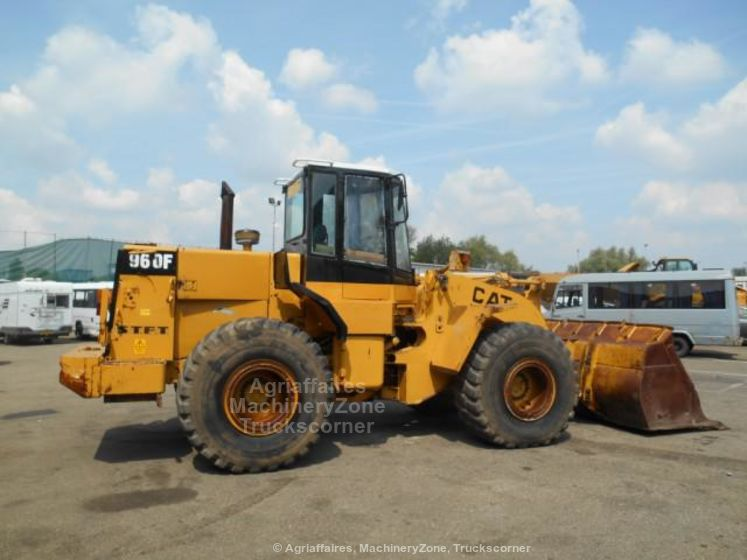 Caterpillar 960F (950 962 966) Wheel Loader Top Condition